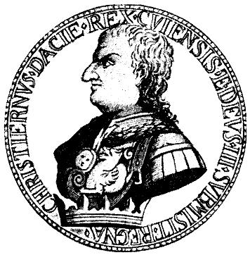 Den første Christian i Norges kongerekke var aggressiv og flink til å bruke penger. Det var dessverre stort sett det han var flink til.