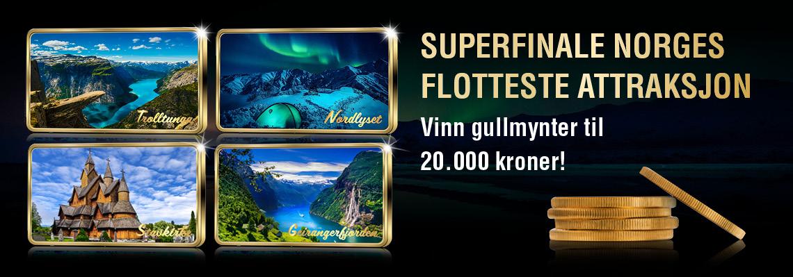 Norges flotteste attraksjon - superfinal