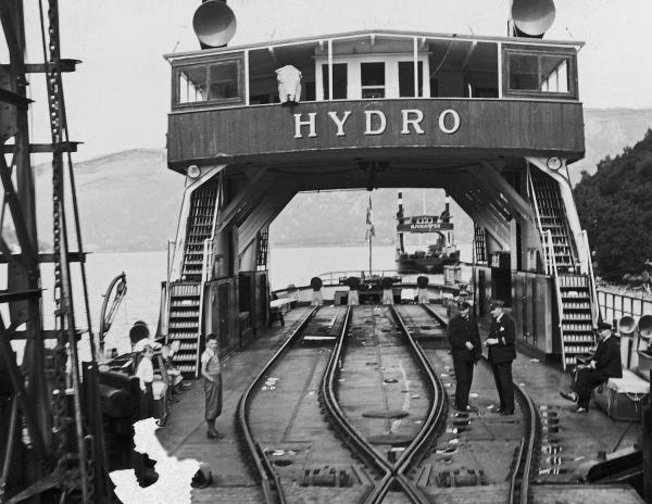 Fergen Hydro da den fortsatt var i drift