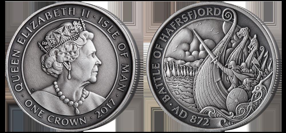 Myntene til ære for vikingarven er fortsatt tilgjengelige, men det eksklusive forhåndssalget er nå avsluttet.