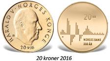 Sirkulasjonsmynt med særpreg i anledning Norges Banks 200-årsmerkering. Samme institusjon har brukt lang tid på å bestemme seg for neste minnemynt i sølv.