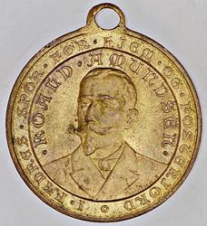 Roald Amundsen fikk sin egen medalje