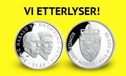 Etterlysning: 200 kroner 2012 Kong Harald V og Dronning Sonja 75 år