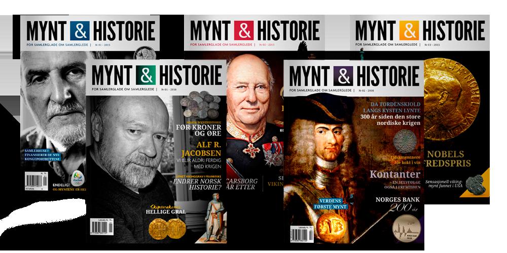 Utgaver av Mynt & Historie