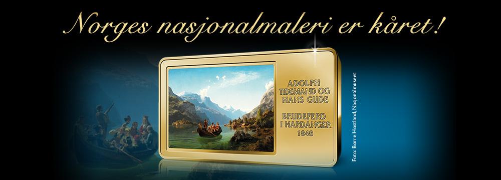 Brudeferd i Hardanger ble Norges nasjonalmaleri