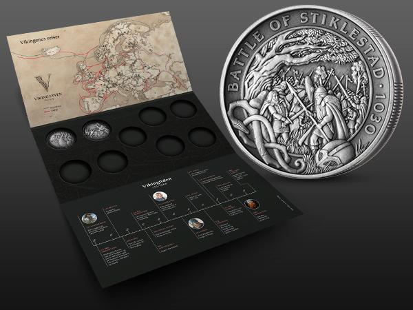 Vikingarven på mynt