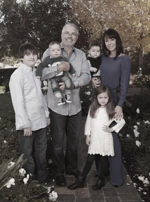 Bruce Morlean med familie