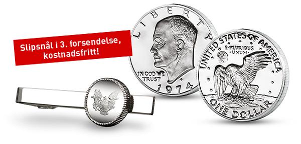 Sikre deg en flott sølvdollar til ære for månelandingen