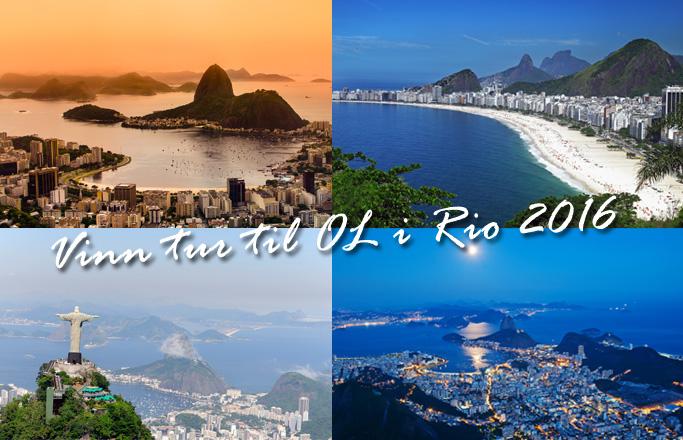 Vinn en tur til OL i Rio 2016