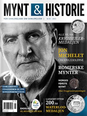 Mynt & Historie 1 2015 med Jon Michelet, krigsseilerne, Norges første mynt og Waterloo-medaljen