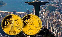 OL-myntene fra Brasil