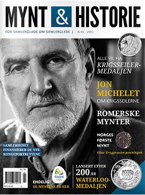 Mynt & Historie 1 2015 med Jon Michelet om krigsseilerne, romerske mynter og Norges første mynt
