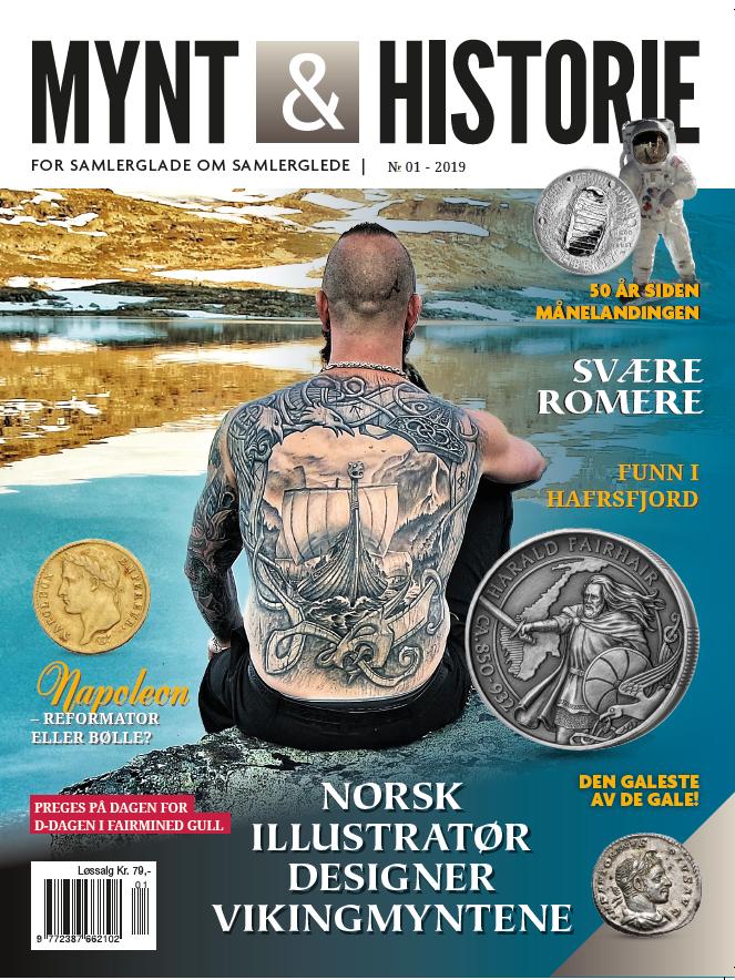 Mynt & Historie 1 2018 med Tatoveringer og romerske mynter