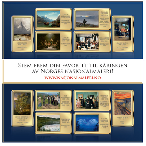 Stem frem Norges nasjonalmaleri!