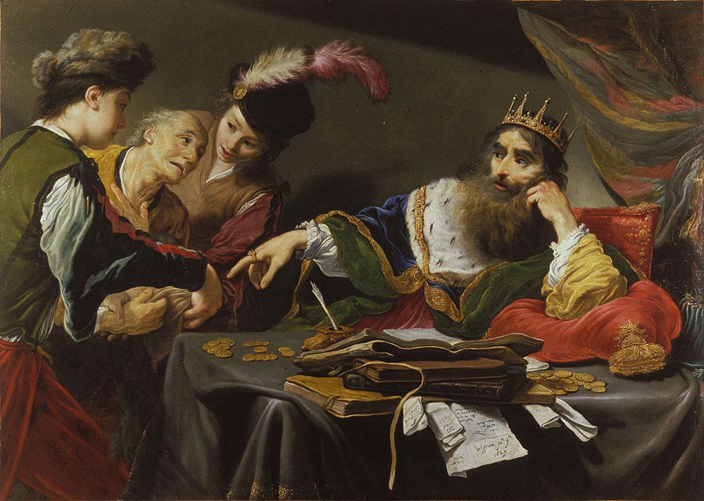 Krøsus preget penger av rent gull og rent sølv