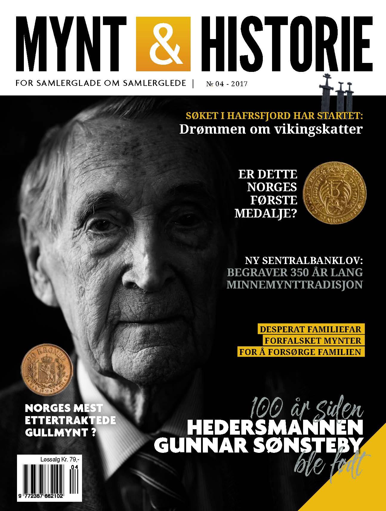 Mynt & Historie 4 2017