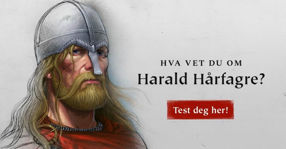 Prøv vår Harald Hårfagre quiz!