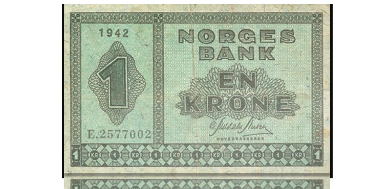 """Ettertraktet """"usling"""" fra krigen for 495 kr"""