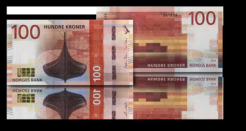 Veksle 100 kr for 100 kr
