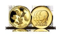 Hundreårsmynten i gull 2003
