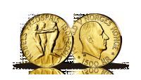 Nobelmynten i gull 2001