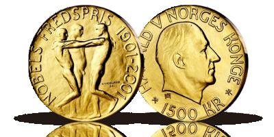 1500 kr Nobels Fredspris 2001
