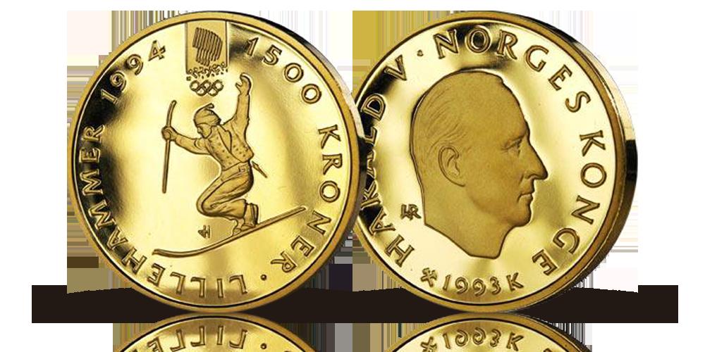 OL gullmynt 1993