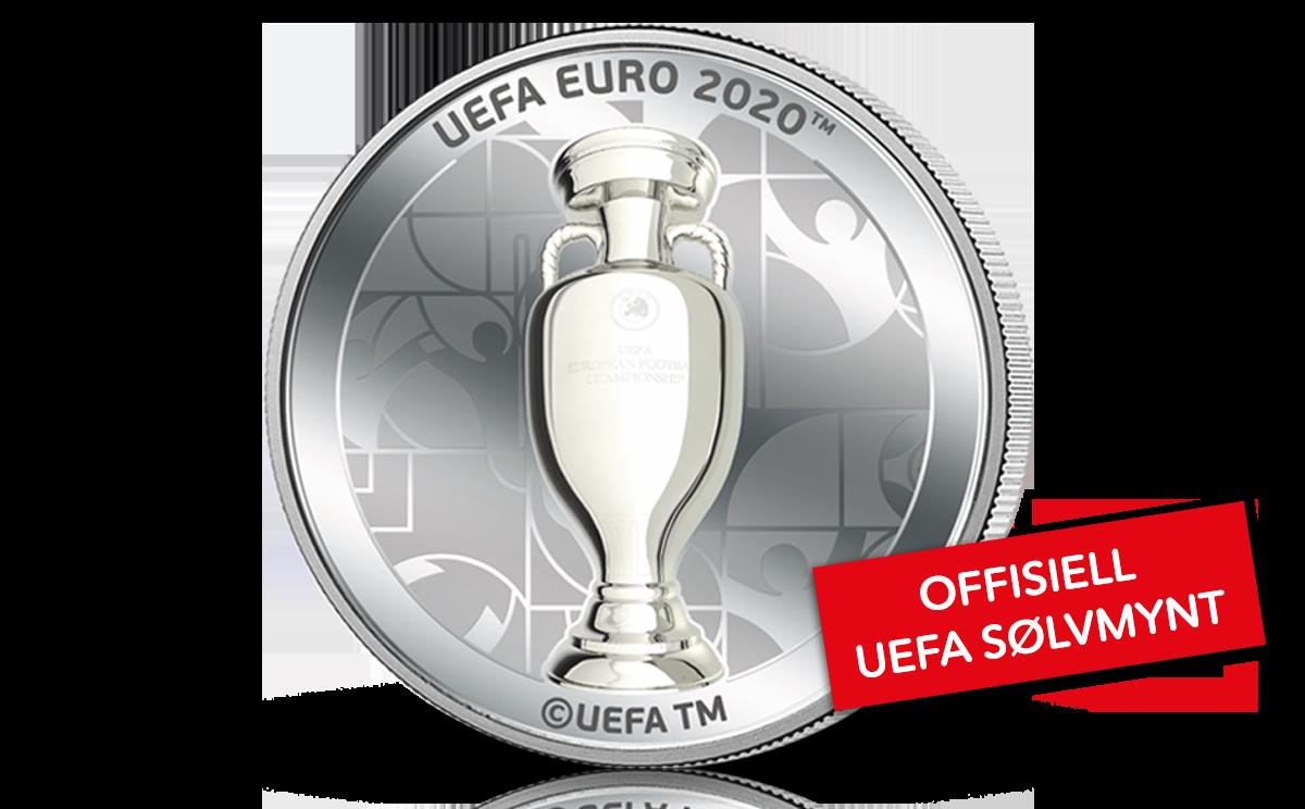 Offisiell UEFA sølvmynt