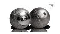Unikt formet sølvmynt med ekte månestein