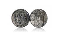 2 Stuiver i sølv Rundeskatten