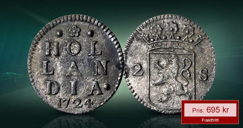 Original sølvmynt fra Norges største skipsvrakskatt