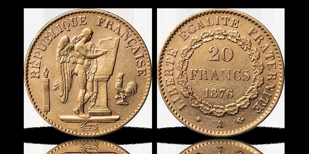 Den legendariske 20 franc engel