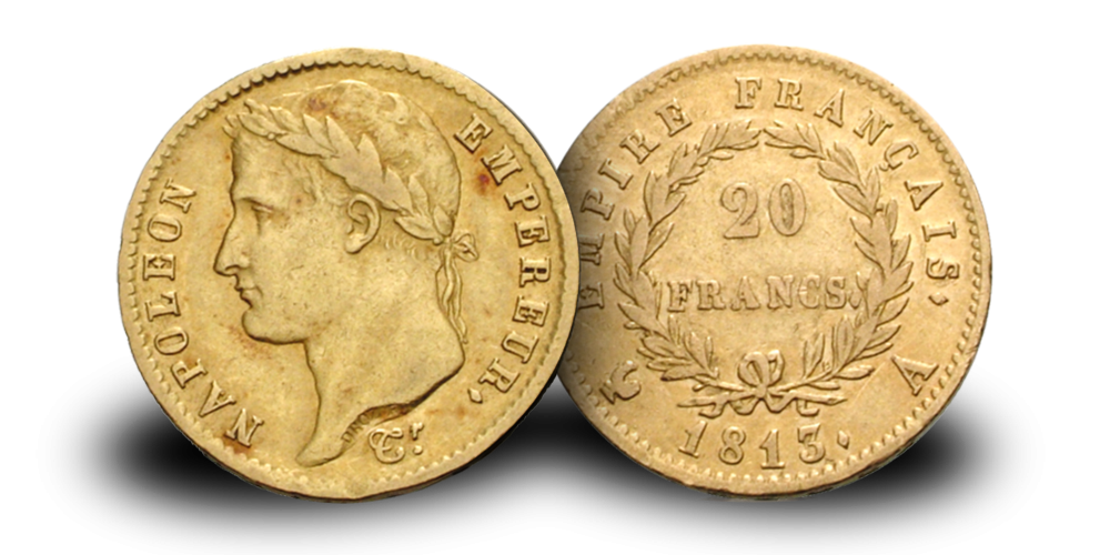 20 franc i gull