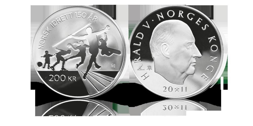 200 kroner sølv minnemynt