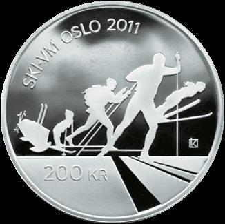 200 kr Ski-VM i Oslo Advers