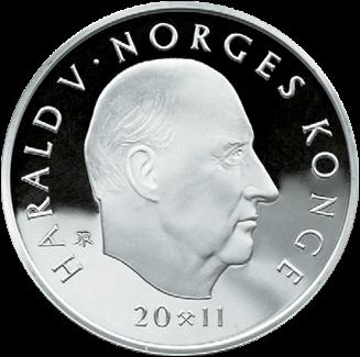 200 kr Ski-VM i Oslo Revers