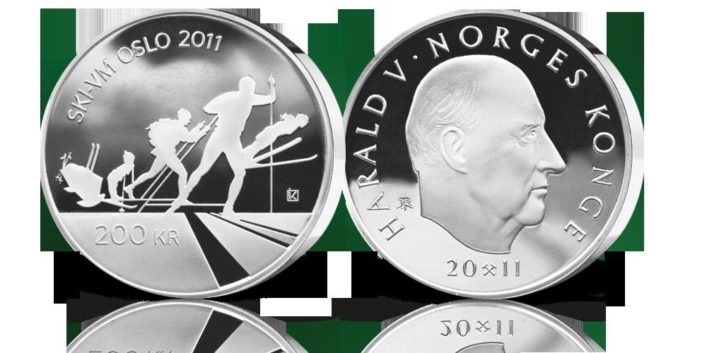 200 kr Ski-VM i Oslo 2011