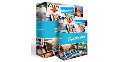 VARIO postkortalbum m/dekor 200 postkort