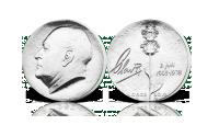 Kong Olav sølv minnemynt fra 1978