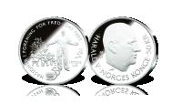 50 kr FN 50 år sølvmynt
