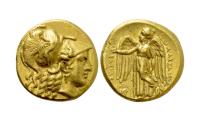 Aleksander den store stater gull