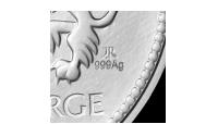 Sølvstempel og kunstners initialer