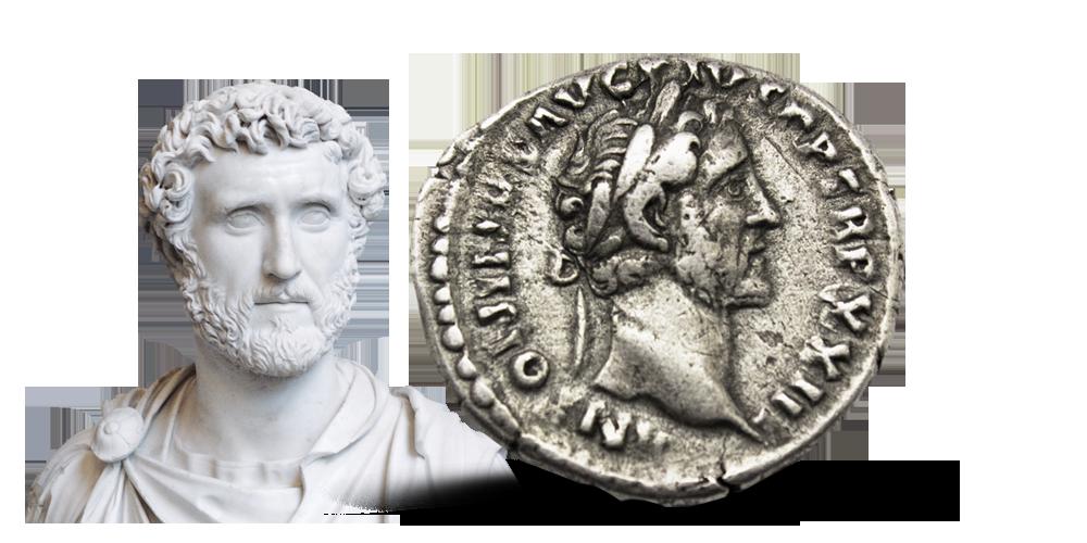 Antoninus Pius Denarius 138-161 e.Kr.