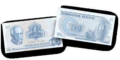 Norske Sedler - Blåtiern