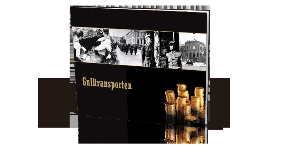 Bok om Gulltransporten