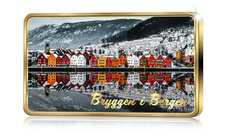 Norges flotteste attraksjon Bryggen i Bergen