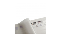 Frimerkealbum med 32 hvite sider