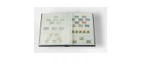 Frimerkealbum med hvite sider