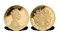 Churchill gullmynt 10 pounds Gibraltar 2015