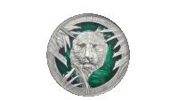 Tiger 3oz sølvmynt